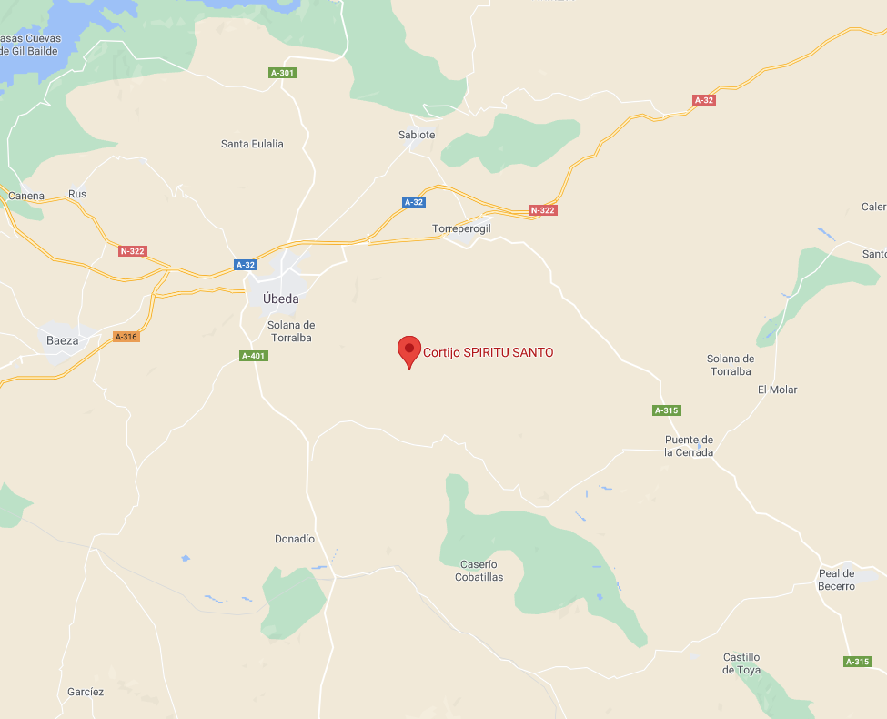 Mapa Cortijo