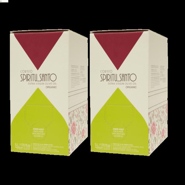 CAJA 2x AOVE Cortijo BagInBox 5l Picual botellas