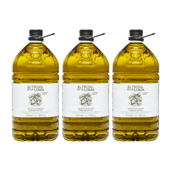 CAJA 3x AOVE Trujal tradicion Garrafa 5l botellas 2
